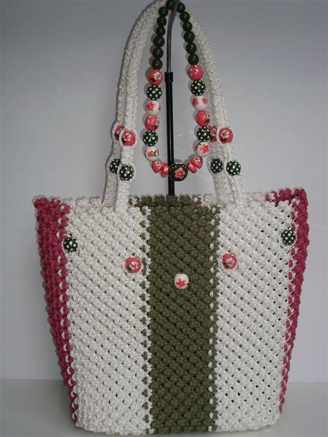 Handbag Tali Tas Tali Handbag Multifungsi macrame bag handmade tote purse handbag bricolaje y