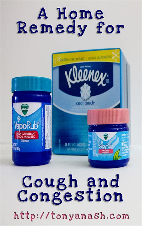 a home remedy for cough and congestion