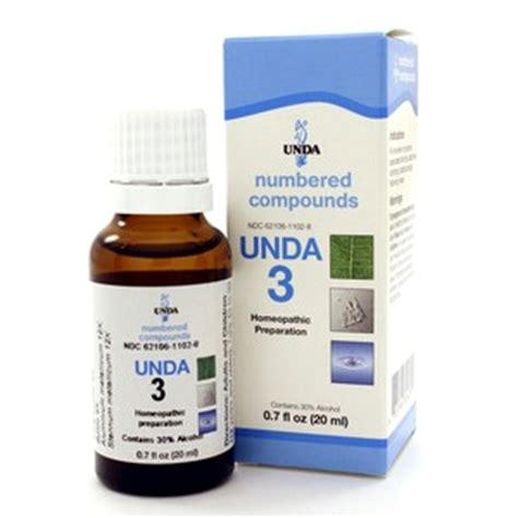 Unda Homeopathic Detox by Unda 3 20ml By Seroyal Unda