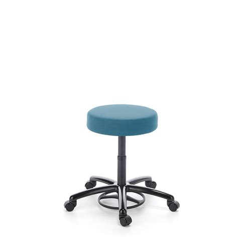 Computer Desk Stool Desk Stool Neutral Posture Icon Stool W Polished Aluminum Base Big Sky Desk Stool