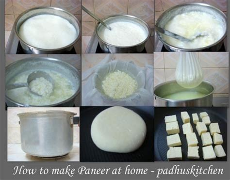 how to make paneer at home padhuskitchen