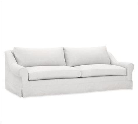 white linen sofa slipcover windsor grand sofa slipcover box cushion washed linen