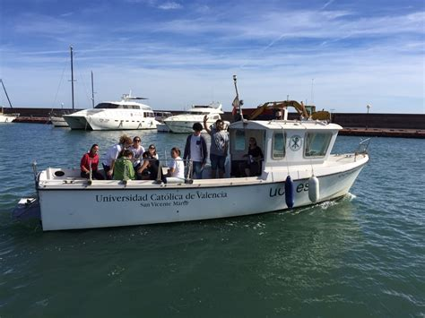 ciencias del mar salidas toma de muestras de agua salida al mar de los alumnos de