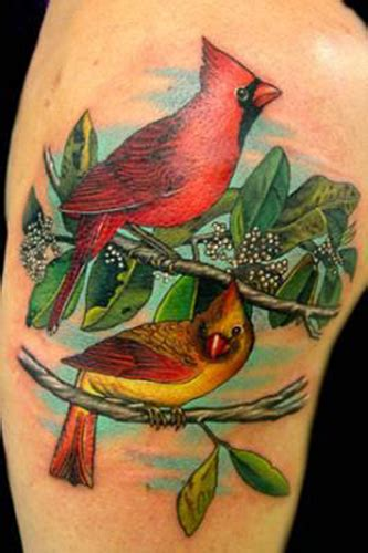 cardinals by nate beavers tattoos