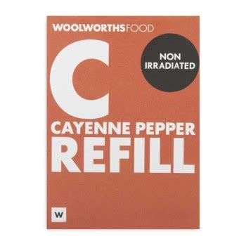 Cayenne Pepper 50g woolworths co za food home clothing general merchandise available