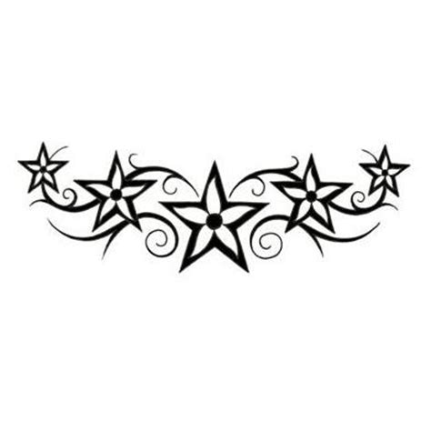 flower and stars tattoo designs cliparts co