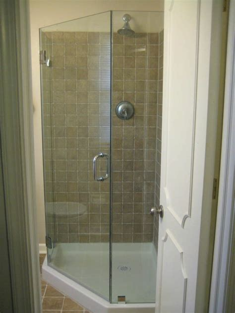 Pre Built Shower Enclosures Frameless Neo Angle Shower Enclosure Shown With A 36x36