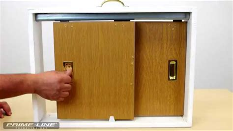 how to install a closet door finger pull