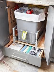 kitchen cabinet storage bins bhg style spotters