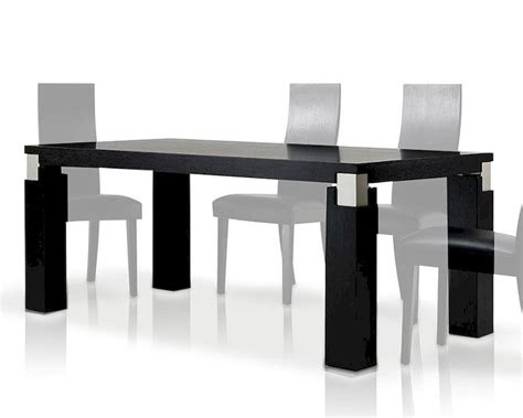contemporary style black oak dining table 44d616 2