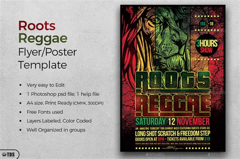 template flyer reggae roots reggae flyer template by lou606 graphicriver