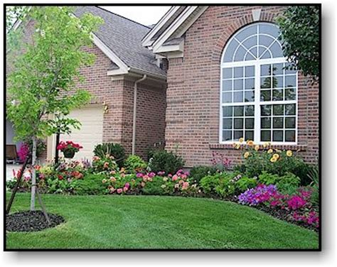 midwest residential landscaping exle for the home pinterest
