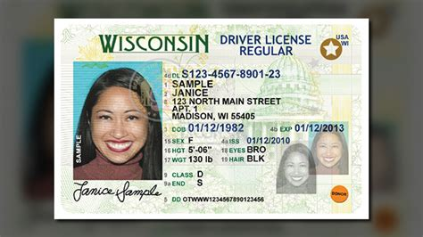 wisconsin drivers license template national id card being covertly rolled out enhanced