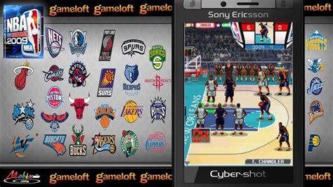 game java gameloft mod hd gameloft 2009 nba pro basketball 2009 java mobile