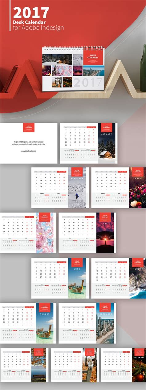 Calendar Designs Templates by Best 25 Desk Calendars Ideas On