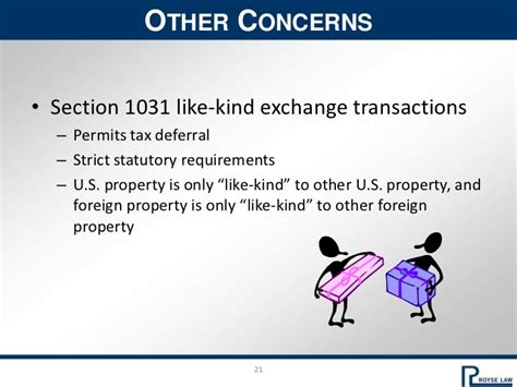section 1031 like kind exchanges foreign investment in u s real estate