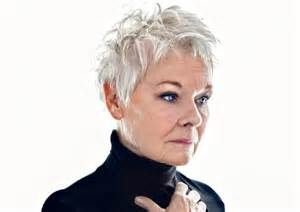 how to cut judi dench hair back of head judi dench short hairstyle 2013