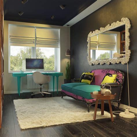 modern pop art style apartment