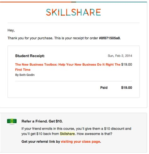 email receipt template 4 ways to turn boring transactional emails into