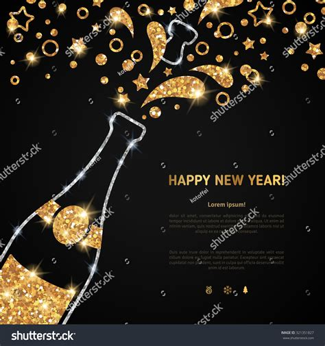 new year greeting posters happy new year 2016 greeting card stock vector 321351827
