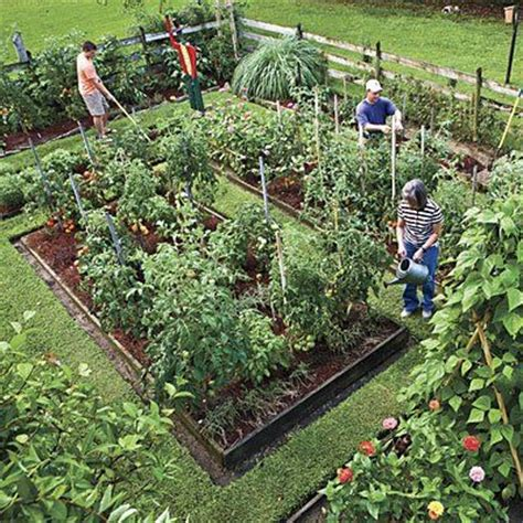 Large Vegetable Garden Layout Article On How To Grow A Vegetable Garden And Landscape It For As Well As Efficiency