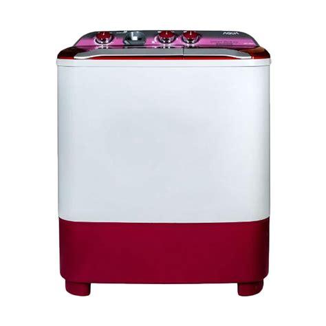 Aqua Mesin Cuci 2 Tabung jual aqua qw 780xt mesin cuci pink 7kg 2 tabung