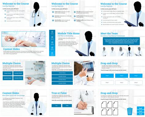 e learning course design template e learning course starter template e learning