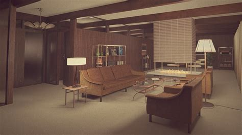 1960s living room 1960s living room by erkucrunk on deviantart