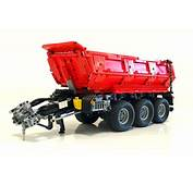 LEGO MOC 8830 Tractor Dump Trailer For Claas Xerion
