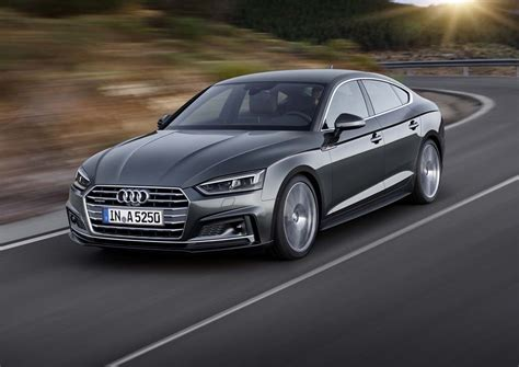 Neuer Audi A5 Sportback by Audi Gets Sporty With New A5 And S5 Sportback