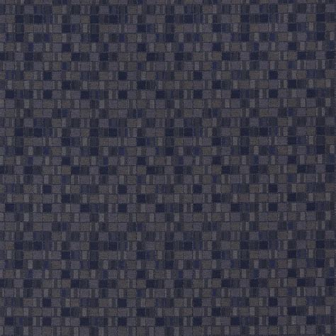 contract upholstery fabric navy blue and green geometric boxes contract upholstery
