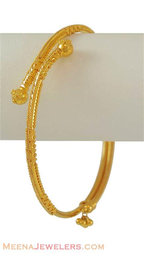 pattern of gold bangles 22kt gold handmade bangle bago6370 22kt gold bangles
