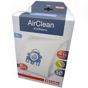 miele gn vacuum cleaner air clean bags 4 bags 2 filters blue collar original ebay
