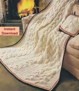 Cable Knit Pillow Patterns » Home Design 2017