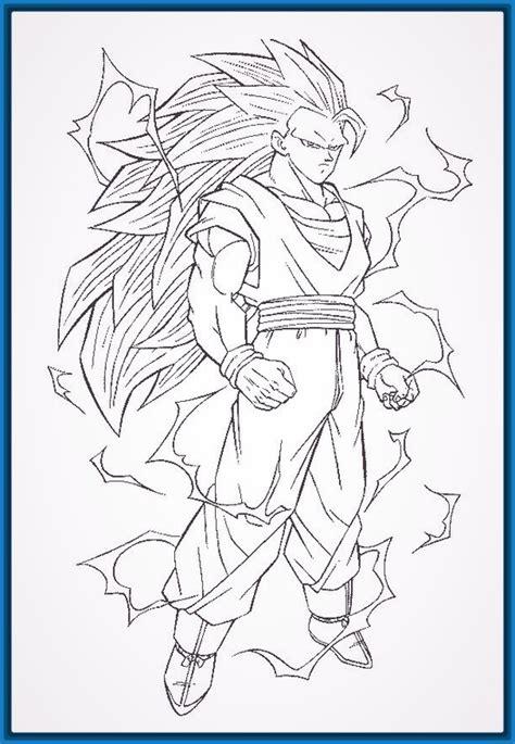 imagenes de broly para dibujar a lapiz dibujos para colorear dragon ball z gohan archivos