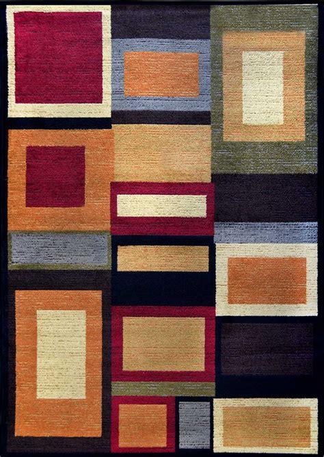 Geometric Area Rugs Contemporary Modern Geometric Multi 8x11 Area Rug Contemporary Carpet Actual 7 8 Quot X10 4 Quot Ebay