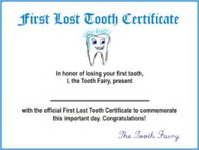Certification Letter Of Lost Happy Tooth Fairy Day Totally Pinteresting