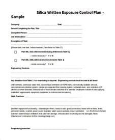 Exposure Plan Template exposure program