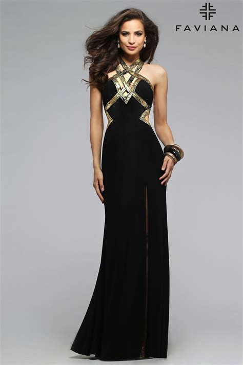 Black And Silver Evening by Gold And Black Prom Dress Www Pixshark Images