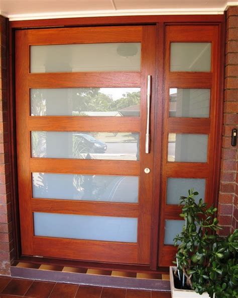Modern Glass Exterior Doors Allkindjoinery Doors 051 Modern Front Doors Other Metro By Allkind Joinery Glass