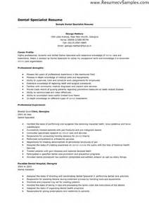Diabetes Specialist Sle Resume by Academic Dental Resume Sales Dental Lewesmr