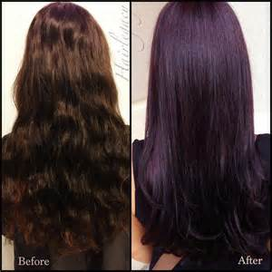 black violet hair color 17 best ideas about plum hair on plum