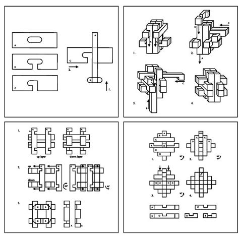 Puzzle 3d Great Minds Set Of 5 52 best images about wooden puzzle solutions on