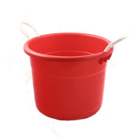 ice bathtub ice tub 70qt red plastic