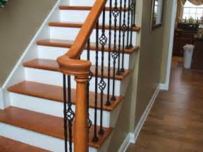 Wood Stairs And Railings by Stairs And Railings K Amp J Flooring Inc