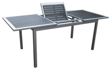 Patio Tables Only Kontiki Dining Sets Composite Medium Ideal For 6 Seats Butterfly Table Only Contemporary