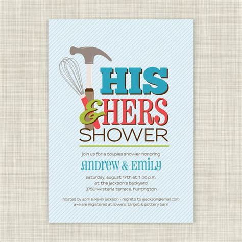 Couples Shower Invitations Etsy by Shower Bridal Shower Invitations And Shower