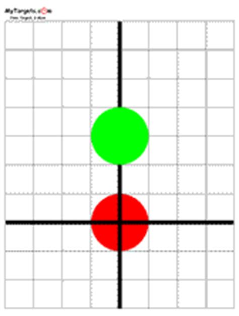 printable targets for sighting in a rifle rifle targets free
