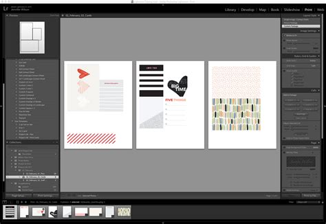 lightroom templates hybrid project album process simple scrapper