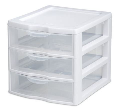 Small Plastic Storage Boxes With Drawers by Storage Drawer Organizer Mini Plastic Container Unit Box